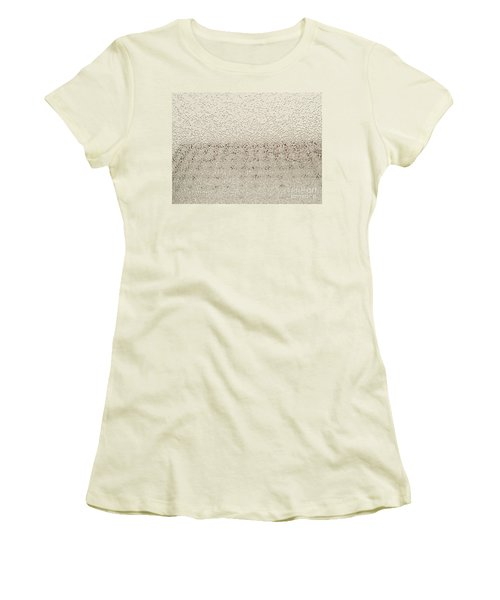Frozen Window Women's T-Shirt (Athletic Fit)