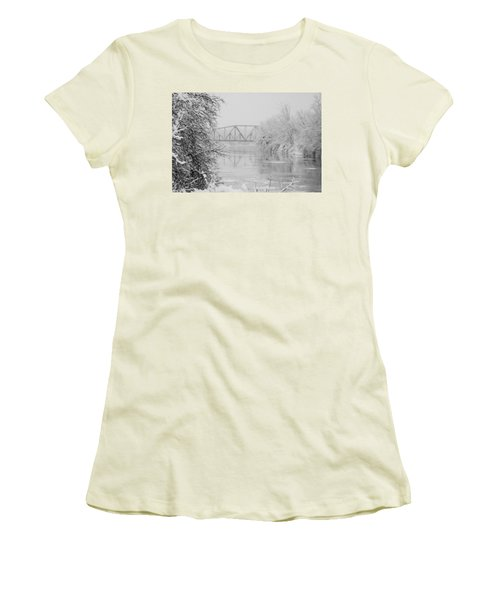Genesee River Women's T-Shirt (Athletic Fit)