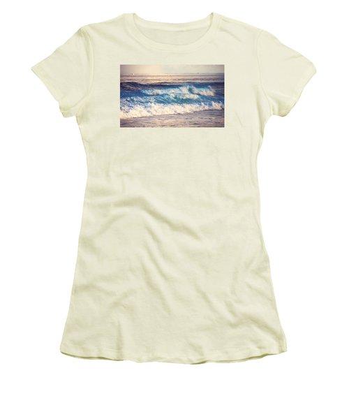 Gentle Light  Women's T-Shirt (Athletic Fit)