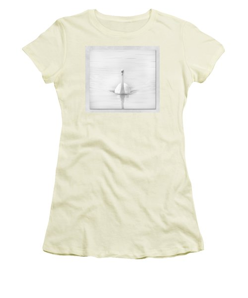 Ghostly White Women's T-Shirt (Athletic Fit)