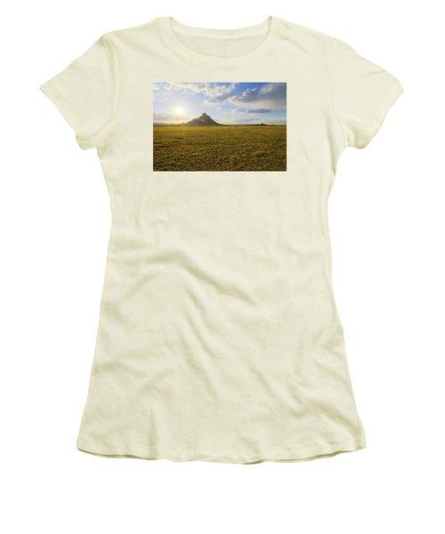 Golden Desert Women's T-Shirt (Athletic Fit)