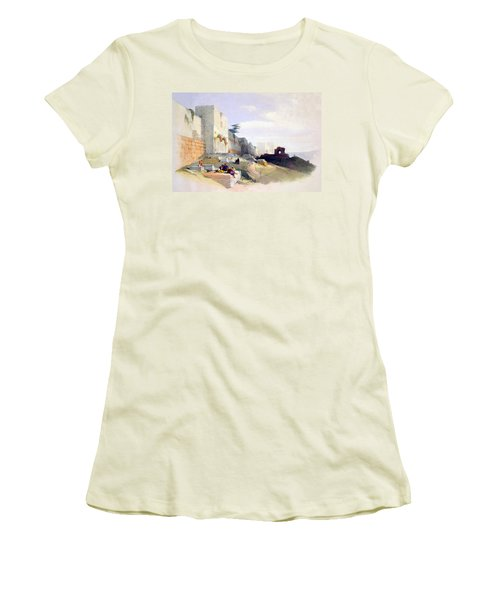 Golden Gate Of The Temple Women's T-Shirt (Athletic Fit)