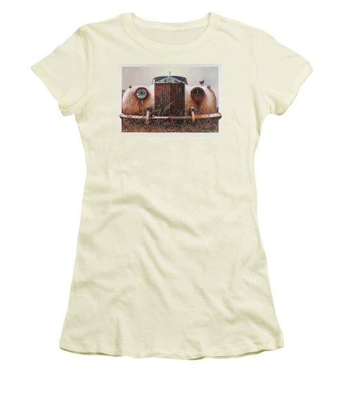 Grace - Rolls Royce Women's T-Shirt (Junior Cut) by Blue Sky