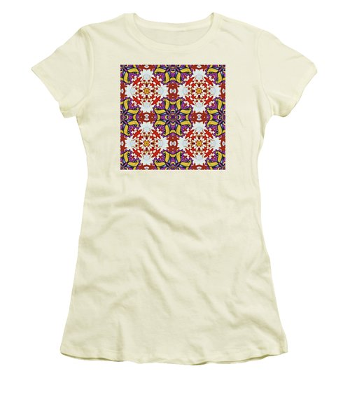 Graffito Kaleidoscope 40 Women's T-Shirt (Athletic Fit)