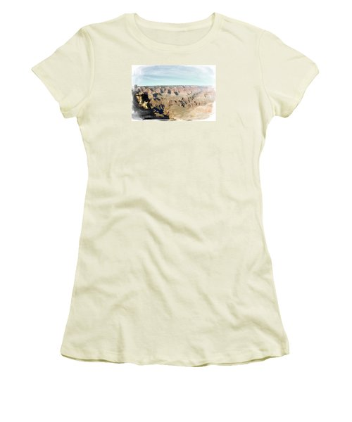 Grand Canyon Softness Women's T-Shirt (Athletic Fit)