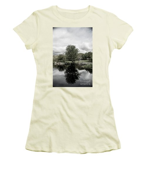 Grays Mill Pond Women's T-Shirt (Athletic Fit)
