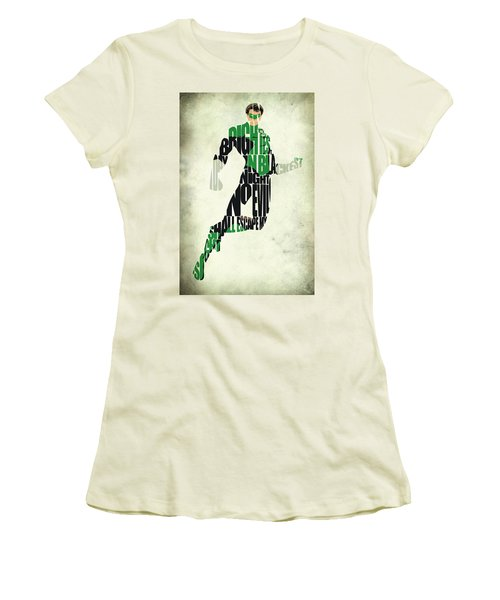 Green Lantern Women's T-Shirt (Athletic Fit)