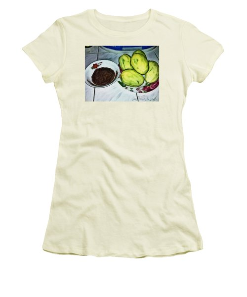 Green Mangoes Women's T-Shirt (Athletic Fit)