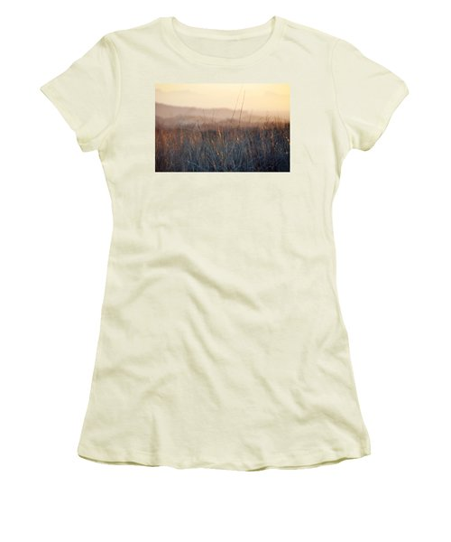 Women's T-Shirt (Junior Cut) featuring the photograph Happy Camp Canyon Magic Hour by Kyle Hanson