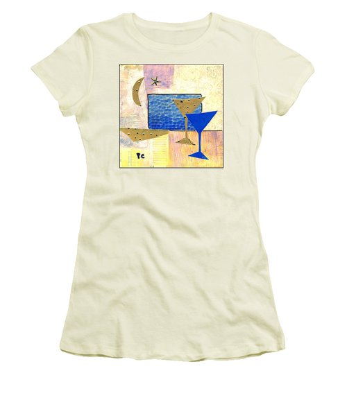 Happy Hour Women's T-Shirt (Junior Cut)