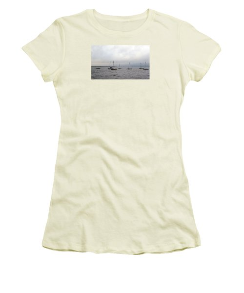 Women's T-Shirt (Junior Cut) featuring the photograph Harbor by David Jackson