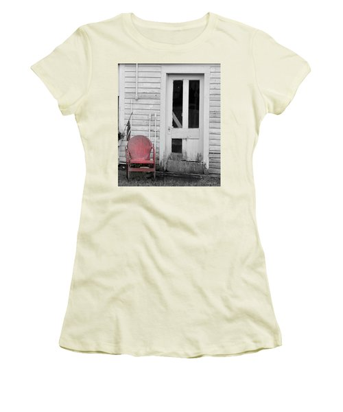 Have A Seat Women's T-Shirt (Athletic Fit)