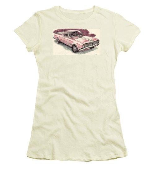 Hg Holden Ute Women's T-Shirt (Athletic Fit)