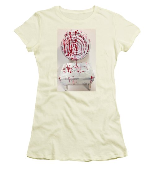 Hide In Your Shell Women's T-Shirt (Athletic Fit)