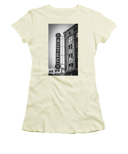 Historic Aztec Theater Women's T-Shirt (Athletic Fit)