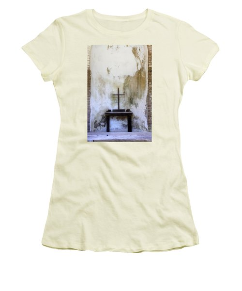 Historic Hope Women's T-Shirt (Junior Cut) by Laurie Perry