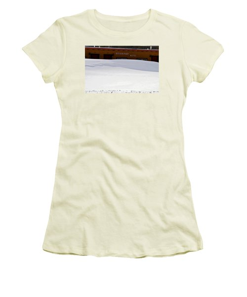 Hitchin' Post April Women's T-Shirt (Athletic Fit)