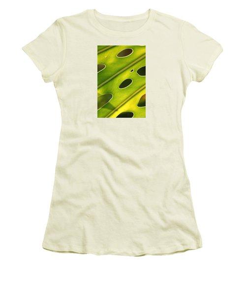 Holey Light Women's T-Shirt (Junior Cut) by Amy Gallagher