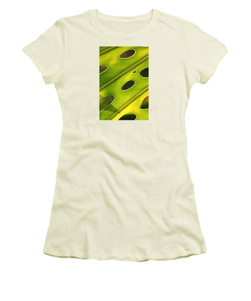 Holey Light Women's T-Shirt (Athletic Fit)