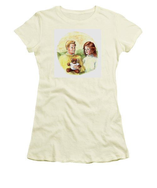 Honey Bear Women's T-Shirt (Athletic Fit)