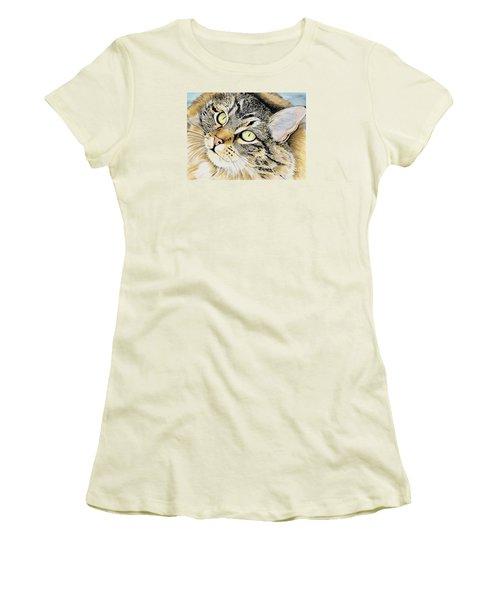 Hopeful Women's T-Shirt (Junior Cut) by Shari Nees