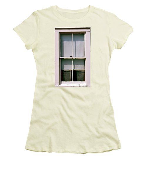 Hopper Was Here Women's T-Shirt (Athletic Fit)