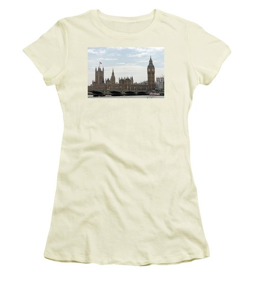 Houses Of Parliament Women's T-Shirt (Athletic Fit)