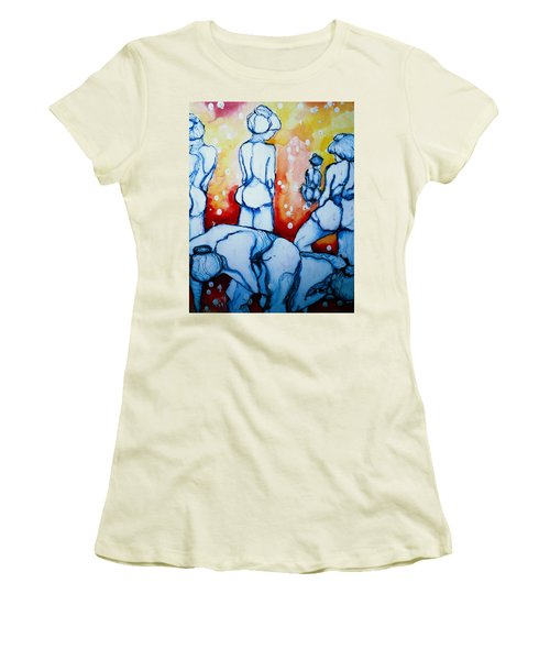 How Many Tears Will It Take? Women's T-Shirt (Junior Cut) by Rory Sagner