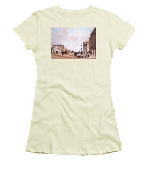 Hyde Park Corner, Looking Women's T-Shirt (Athletic Fit)