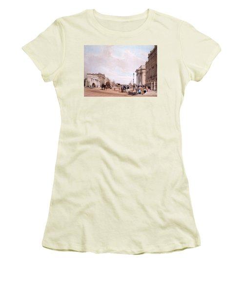 Hyde Park Corner, Looking Women's T-Shirt (Athletic Fit)