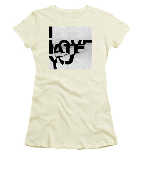 I Have You Women's T-Shirt (Athletic Fit)