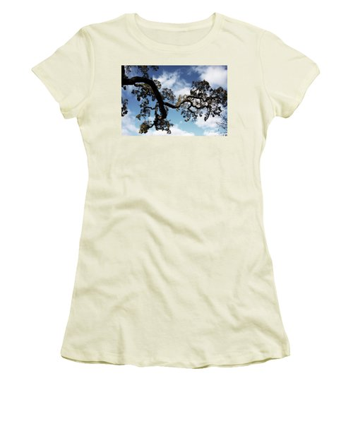 I Touch The Sky Women's T-Shirt (Junior Cut) by Laurie Search