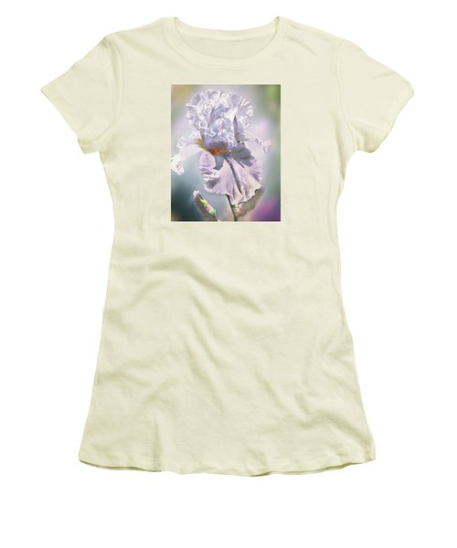 Women's T-Shirt (Junior Cut) featuring the digital art Ice Queen by Mary Almond