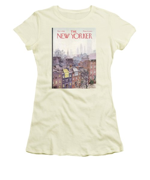 In The Borough Women's T-Shirt (Athletic Fit)
