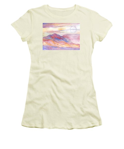 Indian Summer Sky Women's T-Shirt (Athletic Fit)