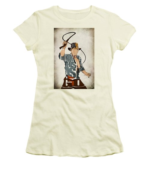 Indiana Jones - Harrison Ford Women's T-Shirt (Athletic Fit)