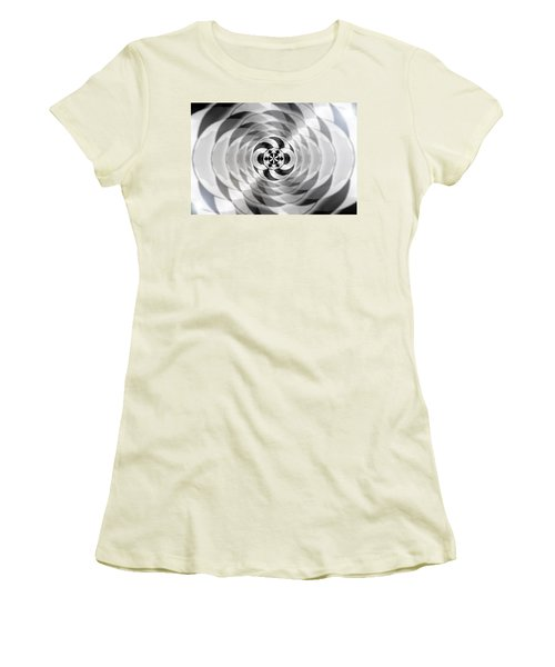 Women's T-Shirt (Junior Cut) featuring the drawing Infinity Bonded by Derek Gedney