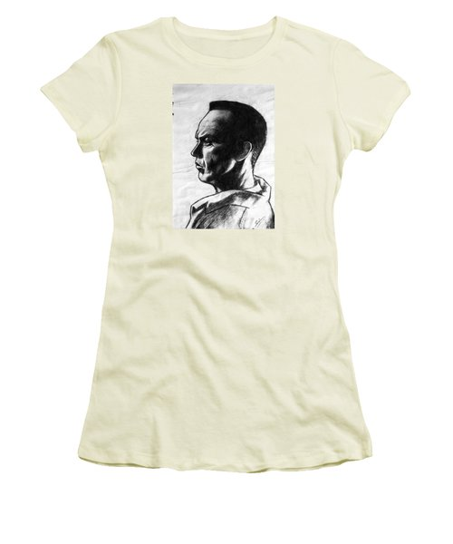 Michael Keaton Women's T-Shirt (Junior Cut) by Salman Ravish