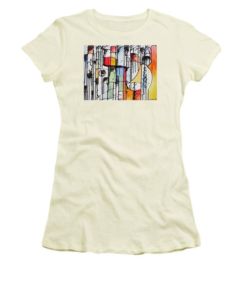 Internal Opposition Women's T-Shirt (Junior Cut) by Jason Williamson