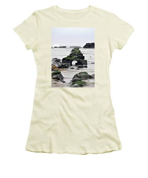 Into The Ocean Women's T-Shirt (Junior Cut) by Minnie Lippiatt