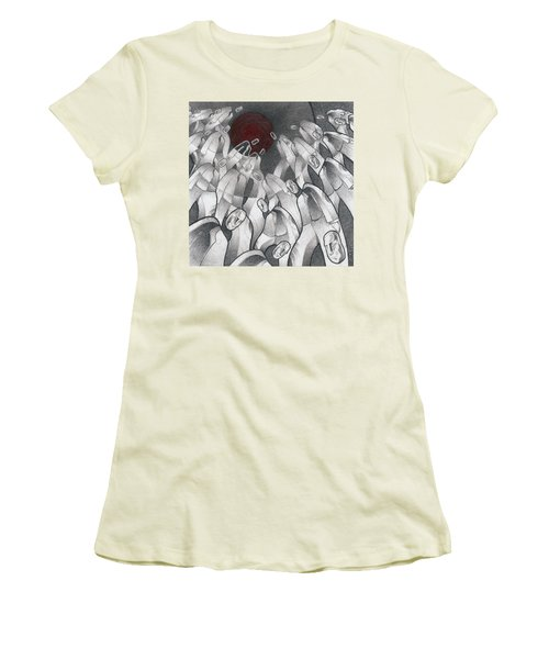 Into The Portal Women's T-Shirt (Athletic Fit)