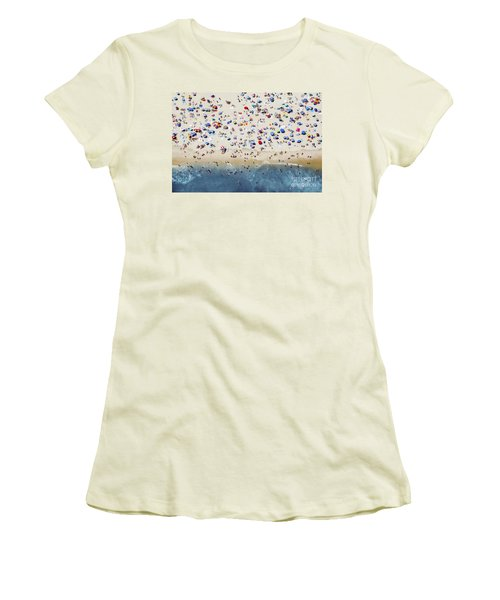 Island Beach State Park Women's T-Shirt (Athletic Fit)