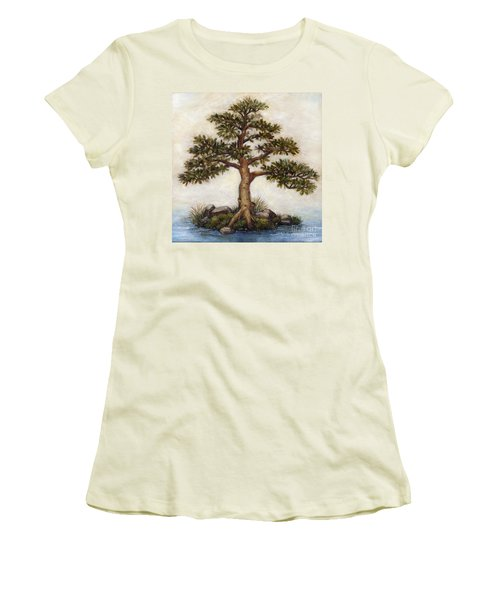 Island Tree Women's T-Shirt (Athletic Fit)