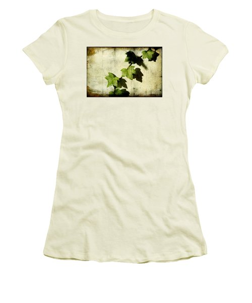Ivy Women's T-Shirt (Junior Cut) by Ellen Cotton