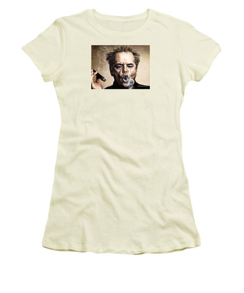 Jack Nicholson Women's T-Shirt (Athletic Fit)
