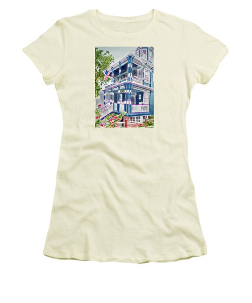 Jackson Street Inn Of Cape May Women's T-Shirt (Athletic Fit)