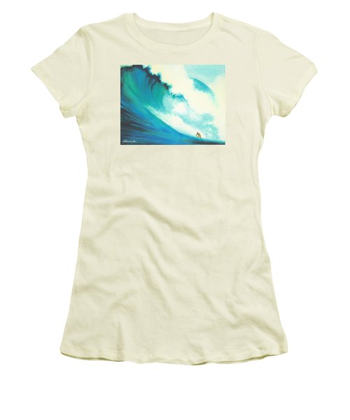 Jaws Women's T-Shirt (Athletic Fit)