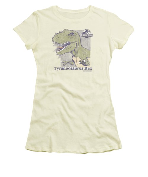 Jurassic Park - Retro Rex Women's T-Shirt (Junior Cut) by Brand A