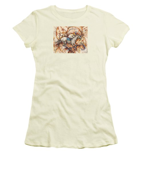 Kaleidoscope Rider Women's T-Shirt (Junior Cut)
