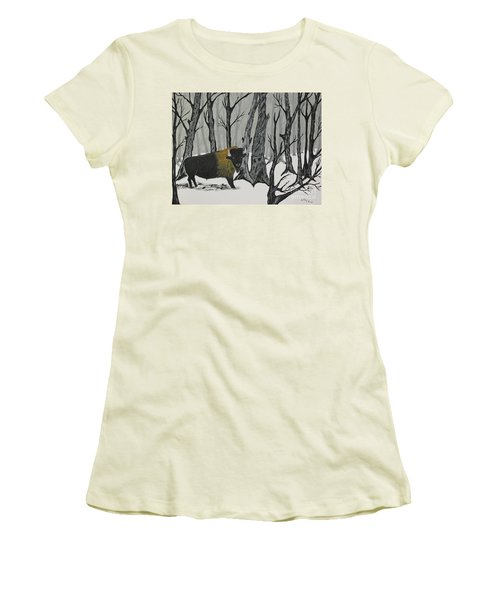 King Of The Woods Women's T-Shirt (Athletic Fit)